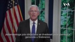 Senator Wicker: Snažno odbijamo opasno negiranje srebreničke tragedije