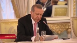 Các quan chức Thổ Nhĩ Kỳ sang Nga bàn về giải pháp cho Syria