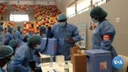 Malanje vacina profissionais da saúde e dos órgãos de defesa e segurança contra a COVID-19