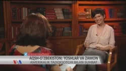 Amerikalik olima O'zbekiston haqida o'zbekcha muloqot