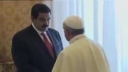 Maduro con el Papa