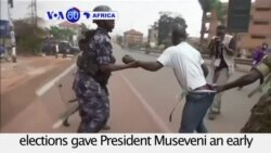 VOA60 Africa - Uganda: Opposition leader Kizza Besigye arrested