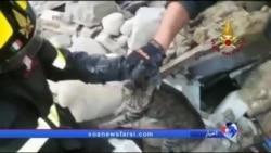 پیترو؛ گربه ایتالیایی که دو هفته بعد از زلزله از زیر آوار نجات یافت