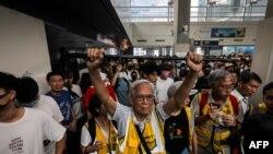 ہانگ کانگ میں مظاہرے دو ماہ سے جاری ہیں۔ (فائل فوٹو)