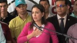 Venezuela Machado reacciones