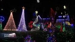 Božićni duh u Alexandriji sa 380 hiljada žarulja