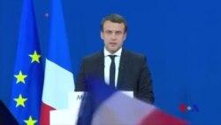 馬克龍和勒龐進入法國總統決選 (粵語)