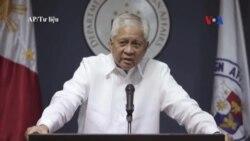 Philippines kêu gọi TQ tôn trọng quyết định của tòa quốc tế