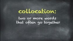Everyday Grammar: Recognizing Collocations
