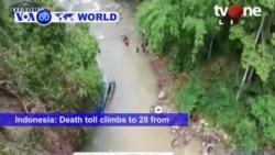 VOA60 World- Death toll from Sumatra bus crash now 28