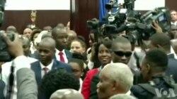 Seremoni Envestiti Prezidan Jovenel Moise an Ayiti