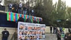 Milli Şuranın 9 noyabr mitinqində MŞ-nın sədri Cəmil Həsənlinin çıxışı