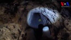 Descubren el túnel más grande en la frontera entre EE.UU. y México