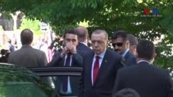 Washington'daki Olaylar Sırasında Cumhurbaşkanı Erdoğan'ın Görüntüleri