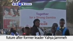VOA60 Africa - Gambians hope for a better future after former leader Yahya Jammeh leaves the country