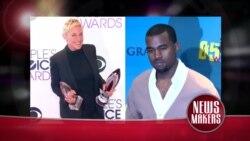 Passadeira Vermelha #66: Ellen DeGeneres está espantada com Kanye West