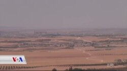 هێزەکانی سوریای دیموکرات لە قەراغ شاری مەنبج