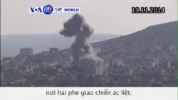 Lực lượng người Kurd chiếm tòa nhà chiến lược, đạn dược từ tay IS (VOA60)
