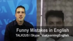Talk2US-Funny Mistakes in English