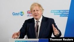 នាយករដ្ឋមន្រ្តីអង់គ្លេសលោក Boris Johnson ចូលរួមក្នុងកិច្ចប្រជុំកំពូលវ៉ាក់សាំងពិភពលោកតាមប្រព័ន្ធ Zoom។