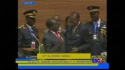 President Deby of Chad Assumes AU Chairmanship From Zimbabwe President Mugabe