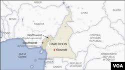 Agace ka Kameruni kavugwamo icyongereza