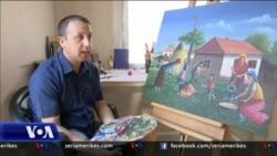 Jeta e romëve në Kosovë përmes pikturës