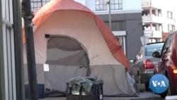 英语视频:探访洛杉矶无家可归者棚户区