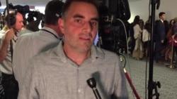 Matt North Traveled from Denver, Colorado to Hear Comey Testimony