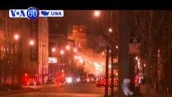 Kho hàng ở Chicago phát hỏa