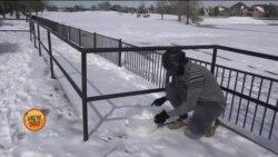 ٹیکساس میں برفباری سے شہریوں کی مشکلات