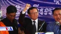 Lãnh tụ đối lập Campuchia được tại ngoại