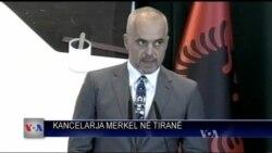 Merkel ne Tirane