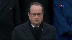 Pháp làm lễ tưởng niệm nạn nhân vụ tấn công khủng bố ở Paris