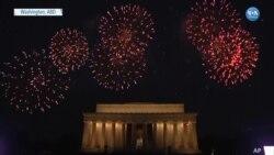 Washington'da Bağımsızlık Günü Kutlamalarında Havai Fişek Gösterisi