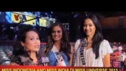 Miss India dan Miss Indonesia di VOA Pop News