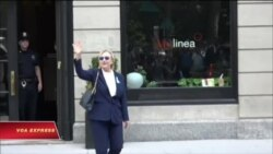 Bà Clinton tiếp tục vận động tranh cử