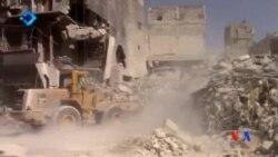 2016-09-27 美國之音視頻新聞: 救援人員指阿勒頗連續四天遭戰機轟炸