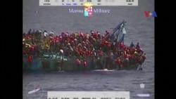 Tàu di dân đắm ngoài khơi bờ biển Libya, khoảng 20 người e đã chết