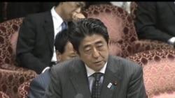 2013-04-24 美國之音視頻新聞: 安倍晉三稱參拜靖國神社不會屈服威脅