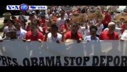 Người biểu tình phản đối chính sách nhập cư của Mỹ gần tòa Bạch Ốc