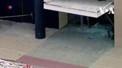 Внедорожник проехал по торговому центру в Чикаго