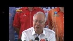 هواپيمای مالزيايی در هوا تکه تکه شده بود