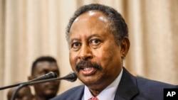 Waziri Mkuu wa Sudan, Abdalla Hamdok akitangaza baraza la mawaziri nchini humo
