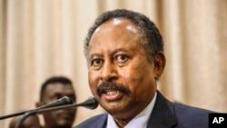 Minisitiri wa mbere wa Sudani Abdalla Hamdok
