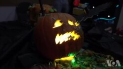 Rocket Scientists Create Pumpkin Designs SAW