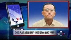 VOA连线蔡瑛: 709大抓捕案辩护律师提出维权行动