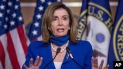 Kryetarja e Dhomës së Përfaqësuesve, Nancy Pelosi