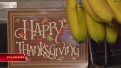 Bữa ăn nóng dịp lễ Tạ ơn cho người vô gia cư ở Mỹ