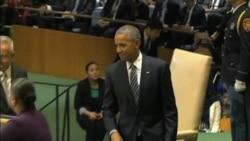 Obama destaca logros y pide cooperación mundial